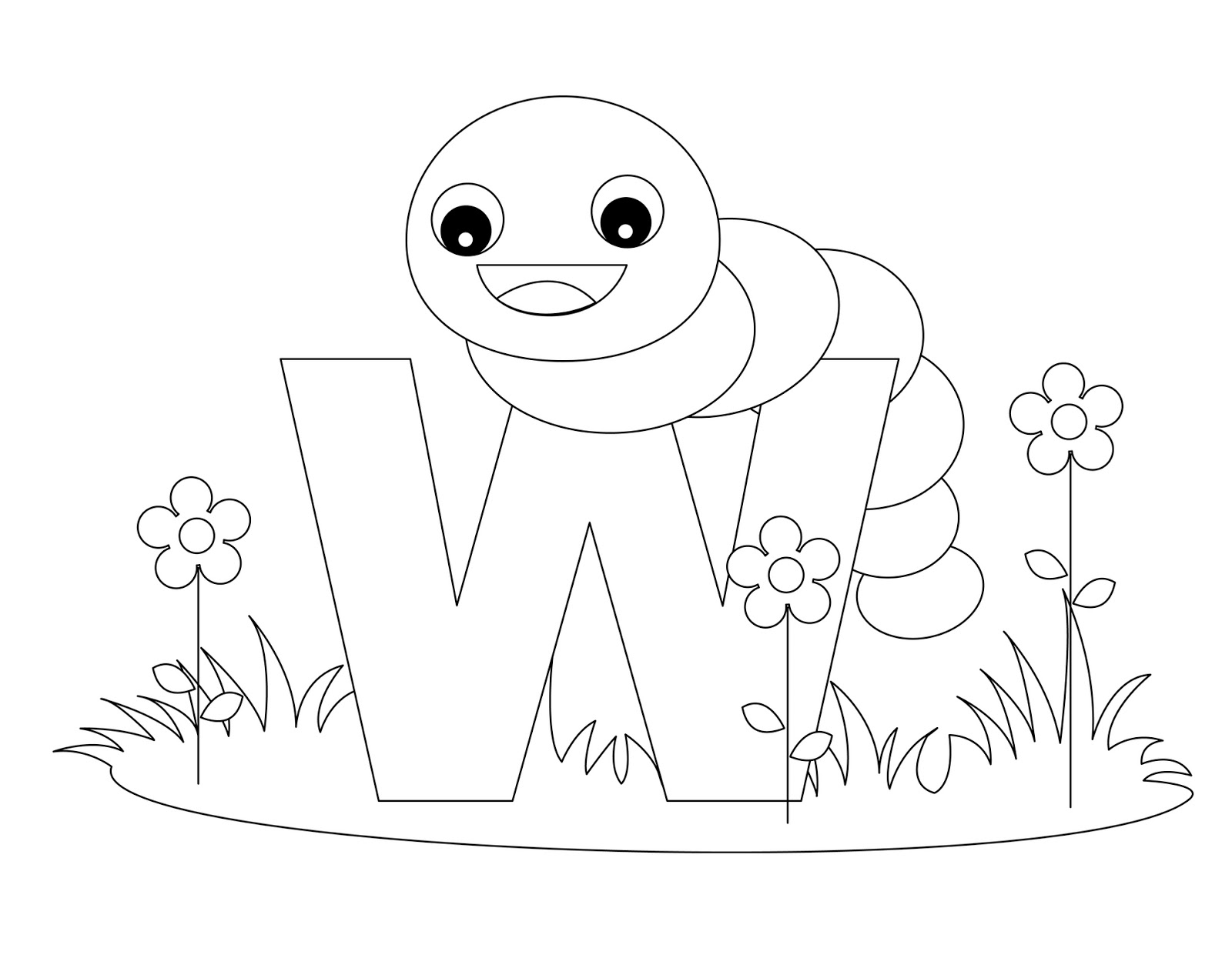 letter w coloring page animal alphabet coloring letter w coloring child coloring coloring w letter page