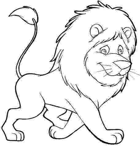 lion color page free printable lion coloring pages for kids page color lion