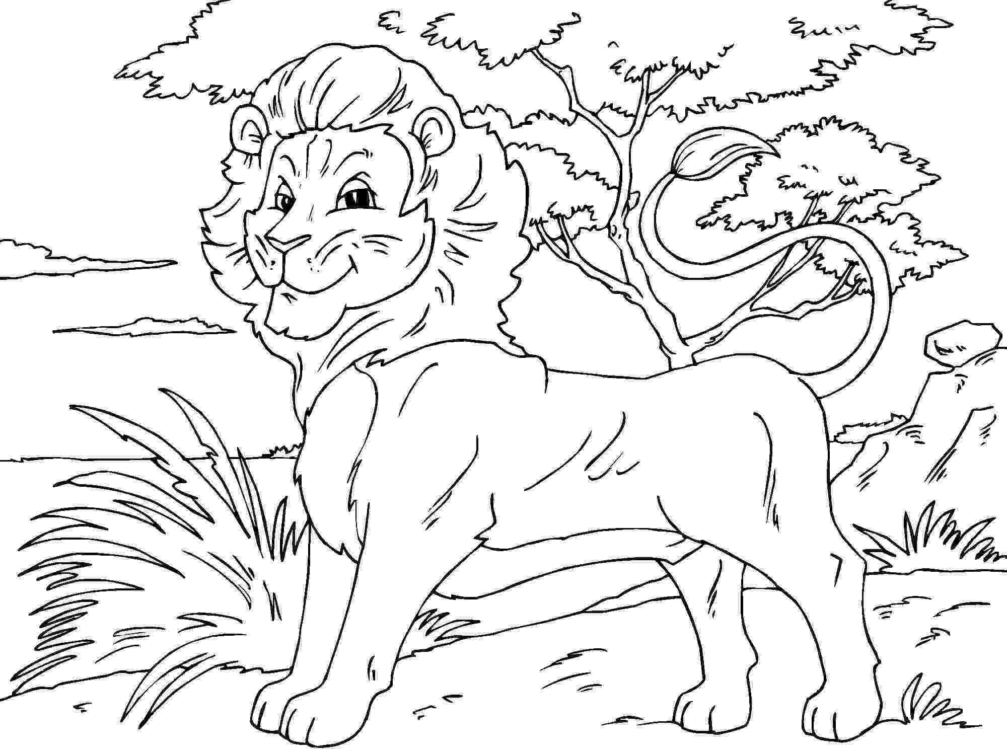 lion color page lion coloring page free printable coloring pages page color lion