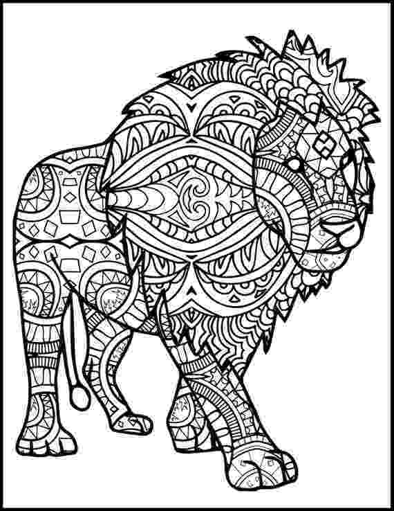 lion color page male african lion coloring page free printable coloring lion color page