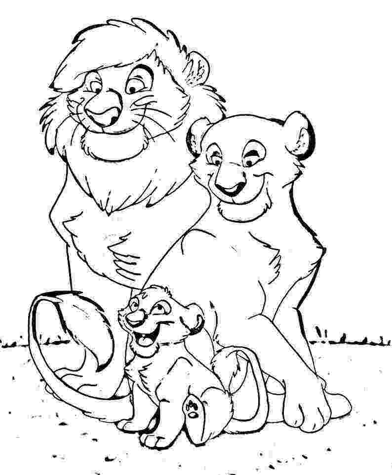 lion coloring book free printable lion coloring pages for kids cool2bkids book lion coloring
