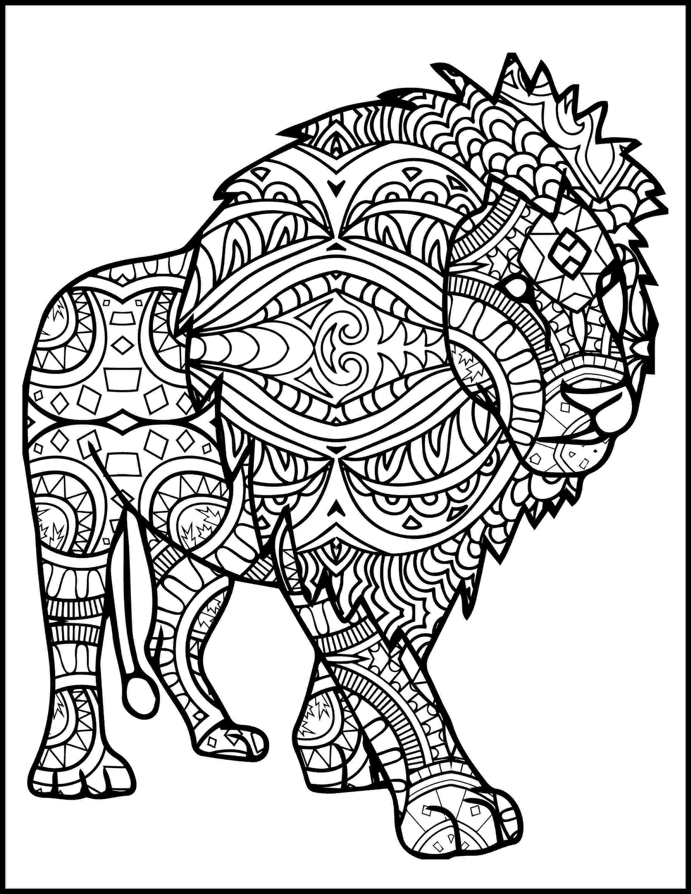 lion coloring book free printable lion coloring pages for kids cool2bkids lion coloring book