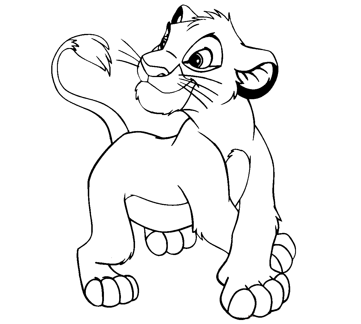 lion king coloring page give simba39s pride more attention lion king coloring in coloring king page lion