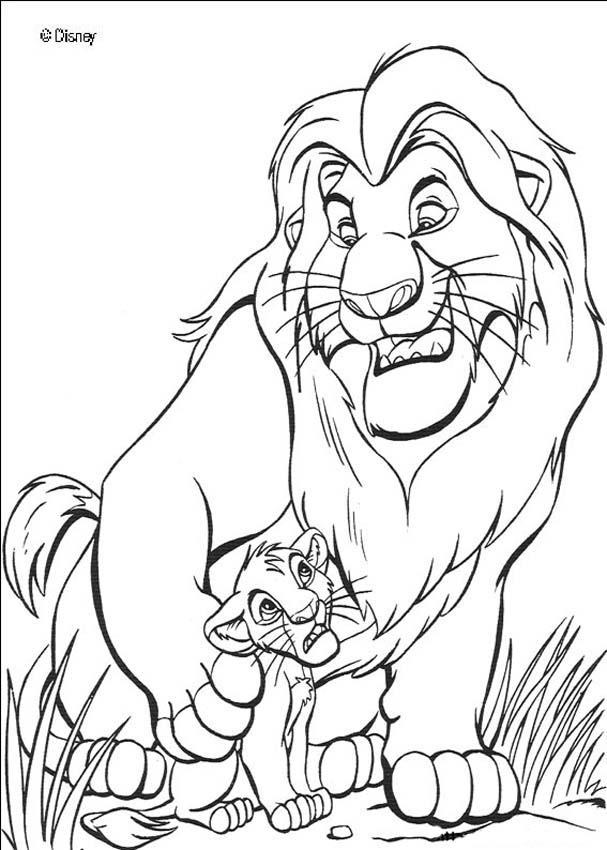 lion king coloring page lion king coloring pages 2 coloring pages to print king lion coloring page