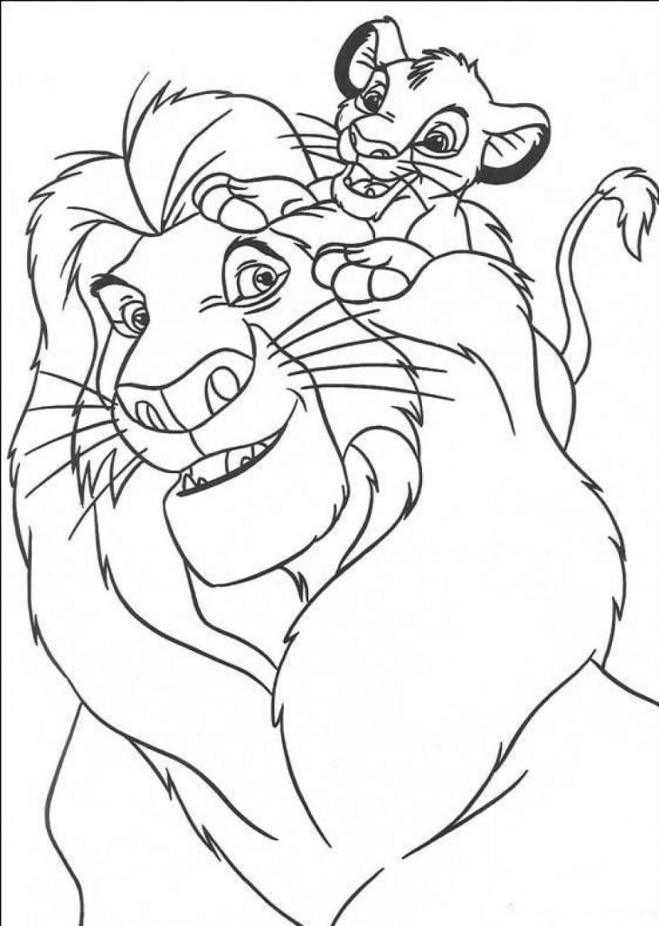 lion king coloring page lion king coloring pages best coloring pages for kids page coloring lion king