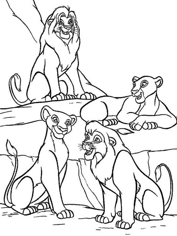 lion king coloring page printable the lion king coloring pages coloring lion page king