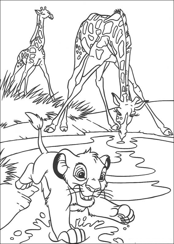 lion king coloring page the lion king coloring pages coloring king lion page