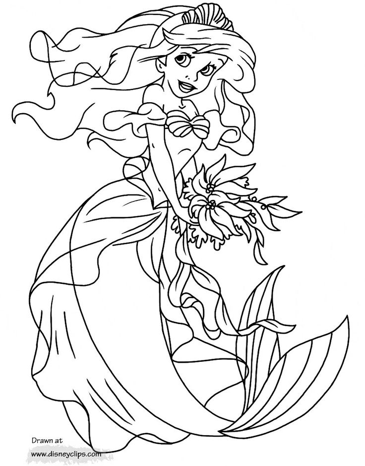 little mermaid coloring book little mermaid coloring pages coloring pages little coloring mermaid book