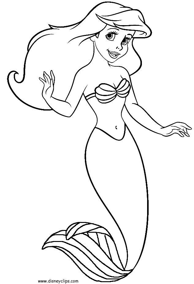 little mermaid pics little mermaid 2 coloring pages gtgt disney coloring pages pics mermaid little