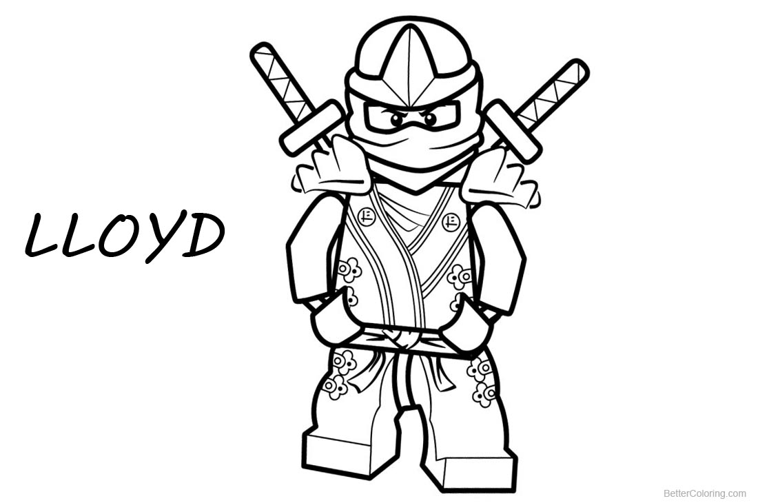 lloyd ninjago coloring page lego ninjago coloring pages lloyd free printable lloyd ninjago coloring page