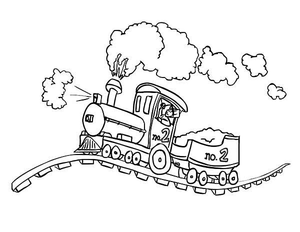 locomotive coloring pages free printable train coloring pages for kids cool2bkids pages locomotive coloring