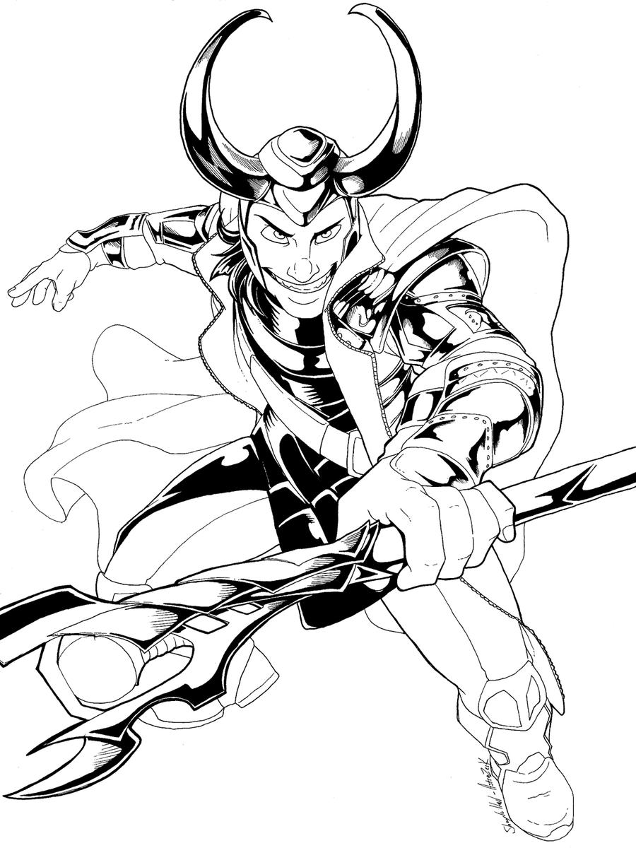 loki coloring pages loki attack avondale style coloring loki pages