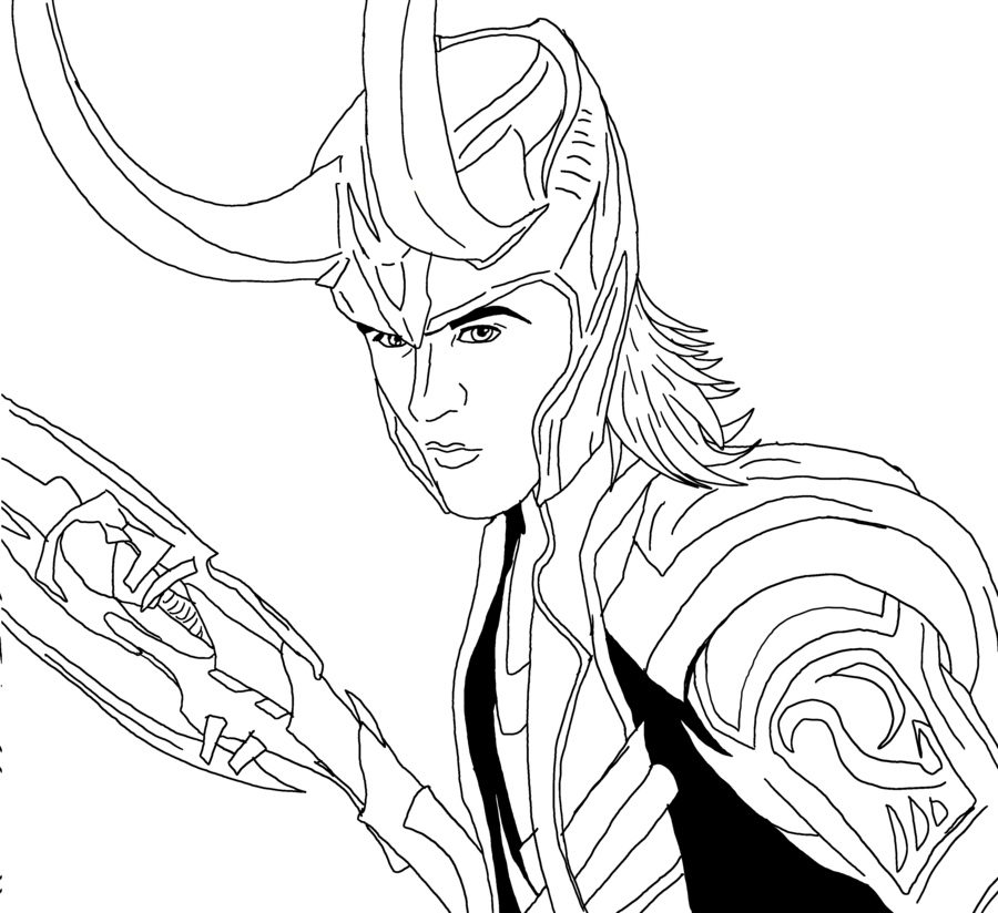 loki coloring pages loki coloring page how to draw avengers page1 page loki pages coloring