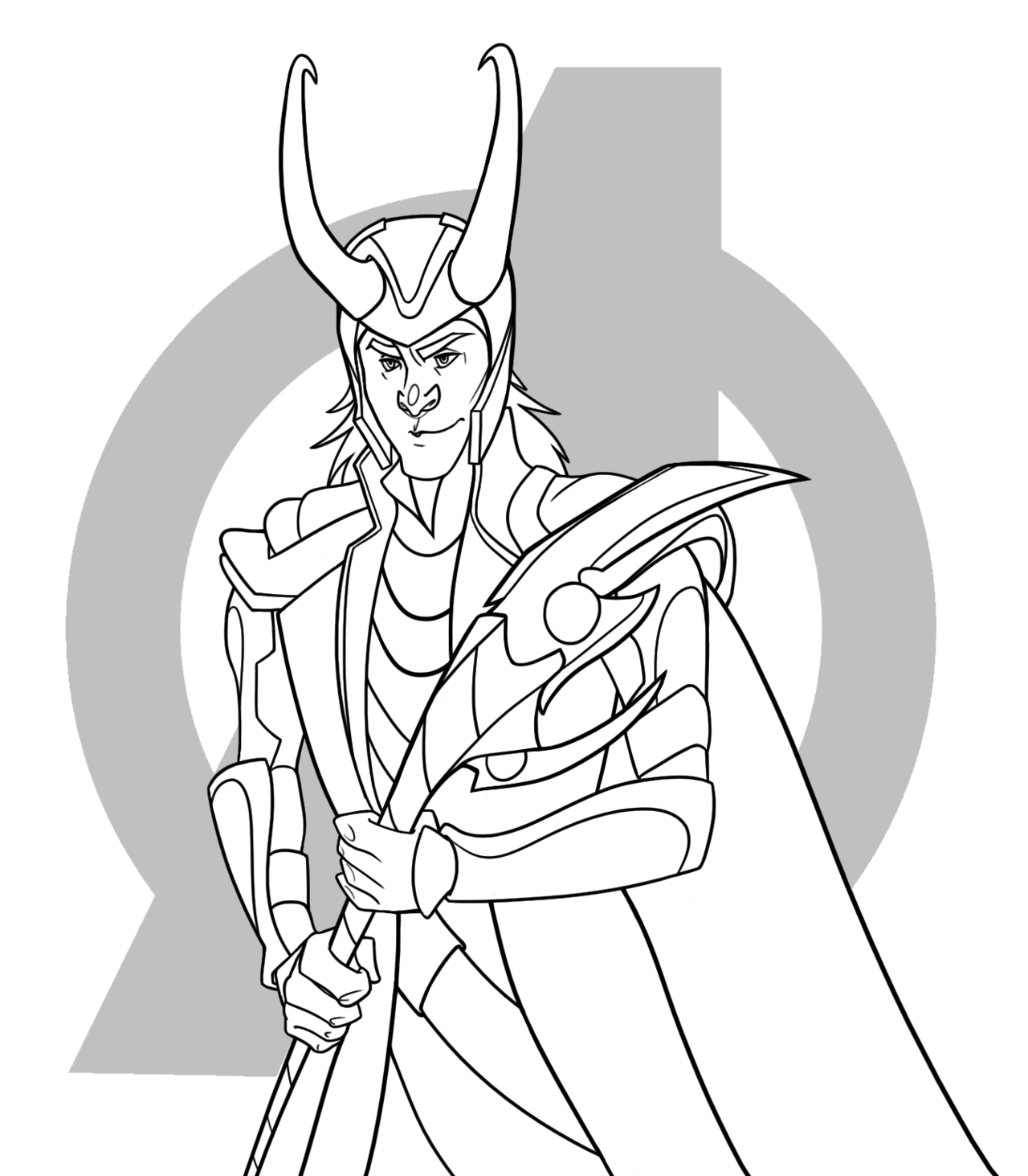 loki coloring pages loki request by gigglewhatsit on deviantart pages coloring loki