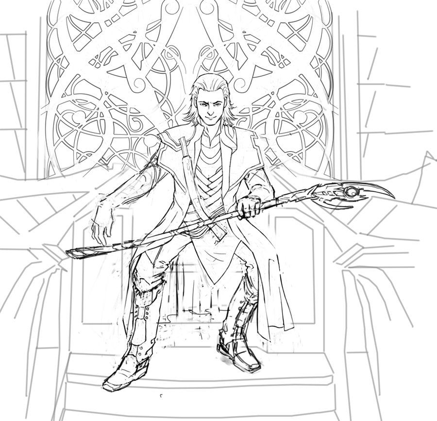 loki coloring pages loki wand avondale style coloring loki pages