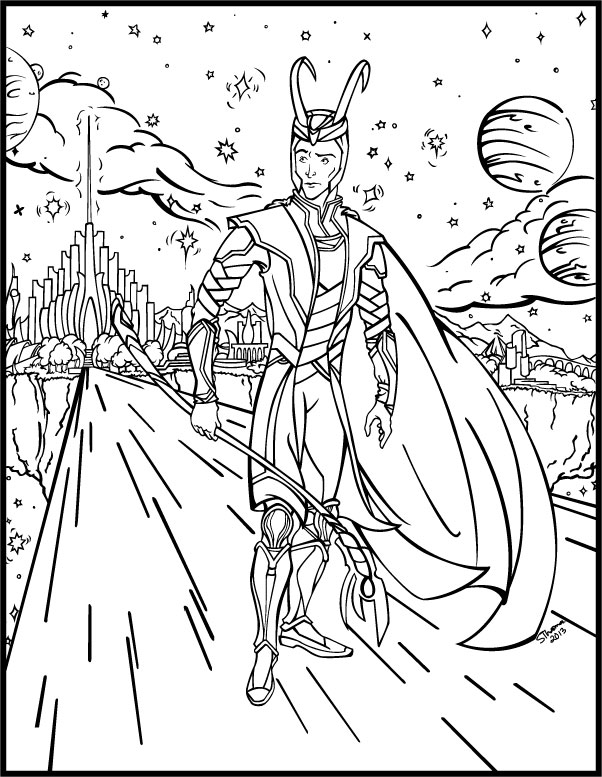 loki coloring pages printable thor coloring pages for kids cool2bkids coloring loki pages