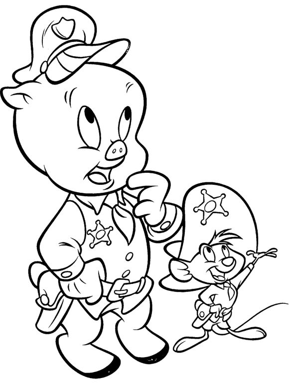 looney tune pictures looney tunes characters porky pig into police looney tune pictures looney