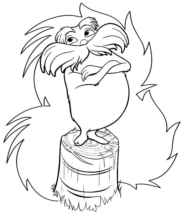 lorax coloring pages free printable lorax coloring pages for kids coloring lorax pages 1 1