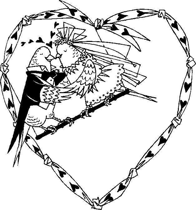love birds coloring pages birds drawing for kids at getdrawingscom free for coloring love birds pages
