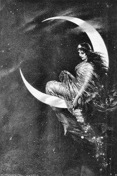 luna girl 155 best moon woman art images in 2019 art moon art moon luna girl