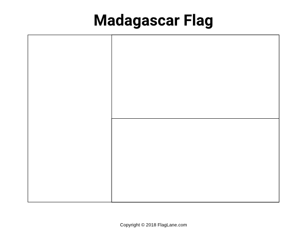 madagascar flag coloring page free madagascar flag coloring page coloring flag madagascar page