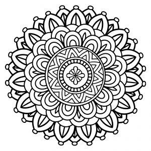 mandala coloring pages free printable 19 flower mandala printable coloring page coloring mandala pages printable free
