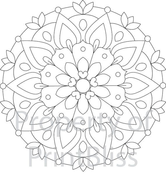 mandala coloring pages free printable 2 flower mandala printable coloring page printable mandala free coloring pages