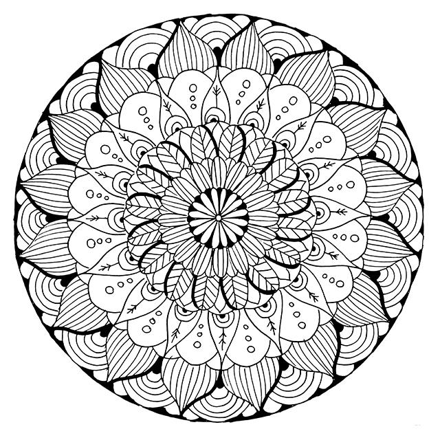mandala coloring pages free printable mandala coloring pages 360coloringpages printable coloring mandala free pages