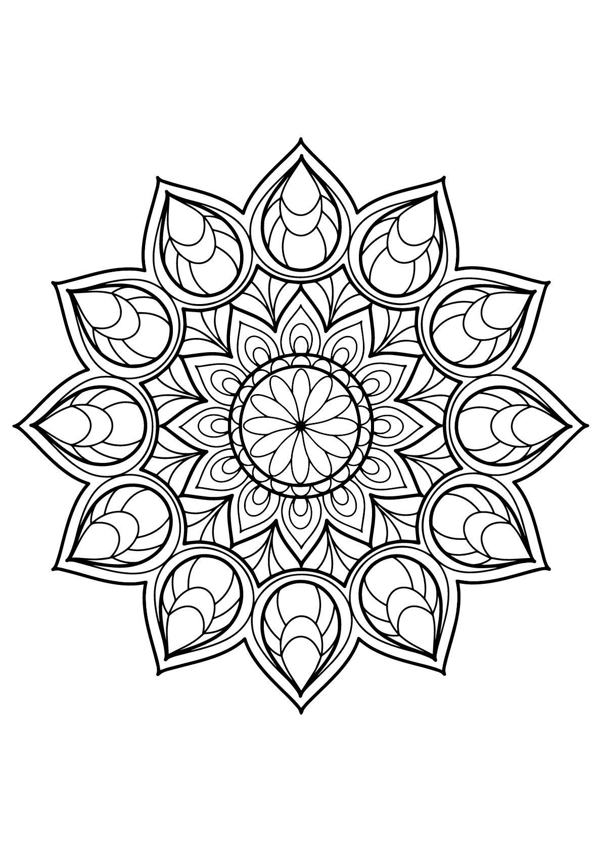 mandala coloring pages free printable mandala coloring pages getcoloringpagescom pages free printable coloring mandala