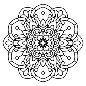 mandala coloring pages free printable relieve daily stresses with beautiful free mandala printable coloring mandala pages free