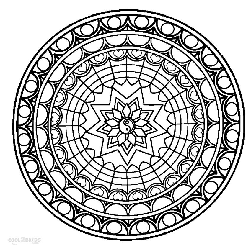 mandala coloring pages free printable the coolest free coloring pages for adults pages mandala coloring printable free