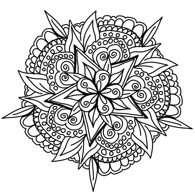 mandala coloring pictures flower mandala coloring page printable pdf blank mandala mandala coloring pictures