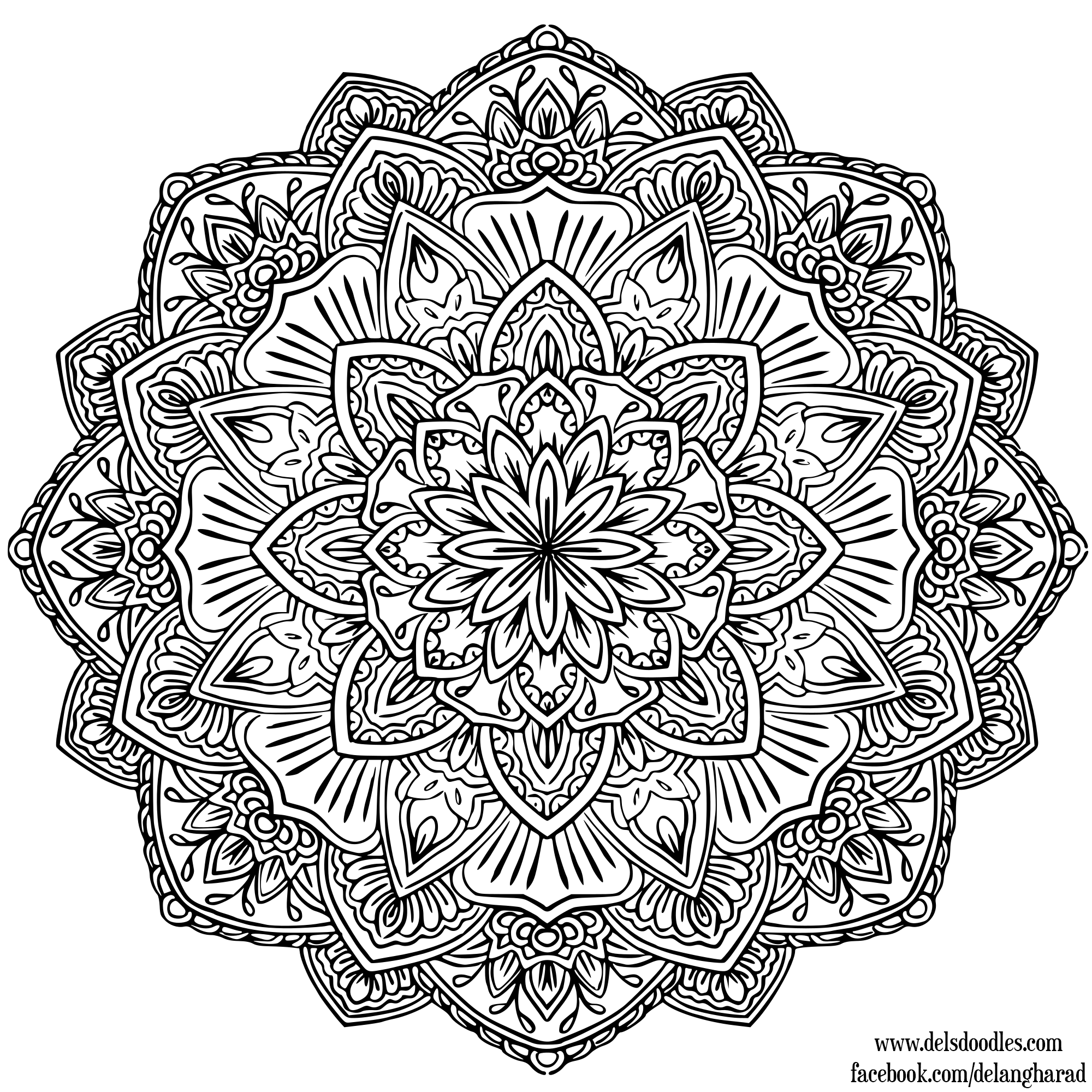 mandala coloring pictures printable mandala 1 ruthart flickr photo sharing mandala coloring pictures