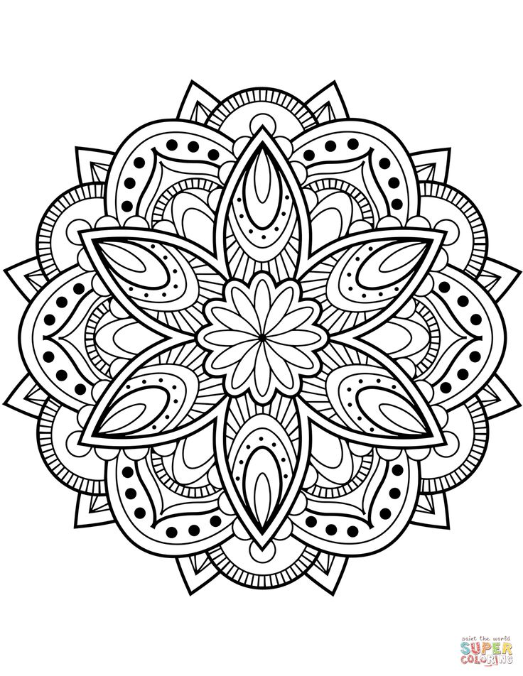 mandala coloring pictures printable mandala coloring pages for kids cool2bkids coloring mandala pictures 1 1