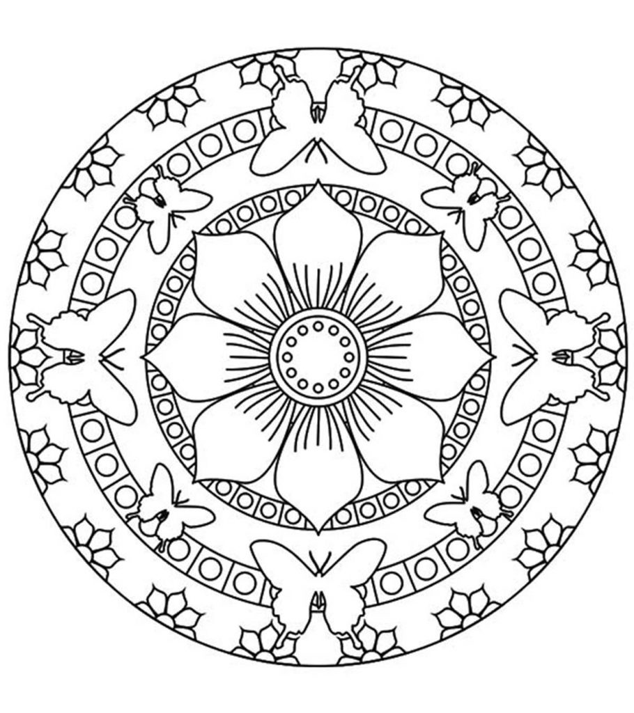 mandala coloring pictures top 25 mandala coloring pages for your little ones mandala pictures coloring