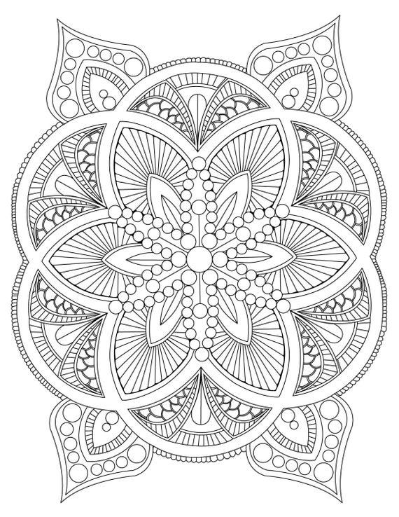 mandalas to color free flower mandala coloring page free printable coloring pages to color mandalas free