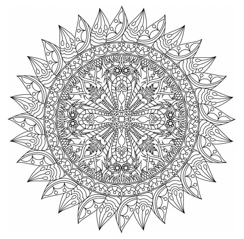 mandalas to color free free mandala coloring pages for adults coloring home mandalas free to color
