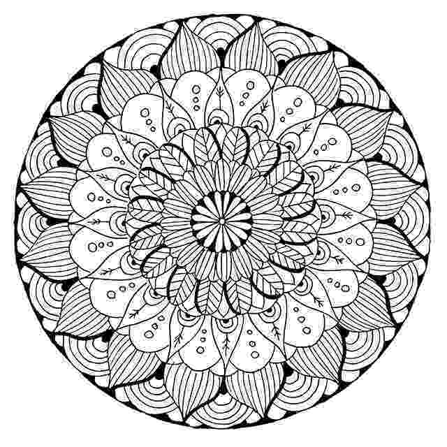 mandalas to color linking visual elements to conceptual ideas color mandalas to