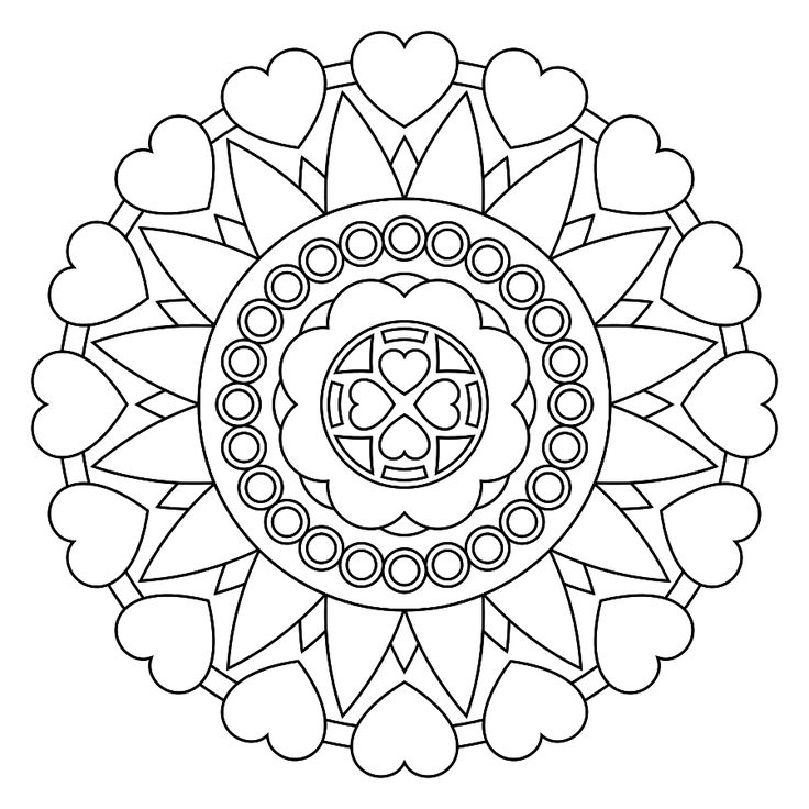 mandela pictures to color don39t eat the paste hidden heart mandala to color mandela to color pictures
