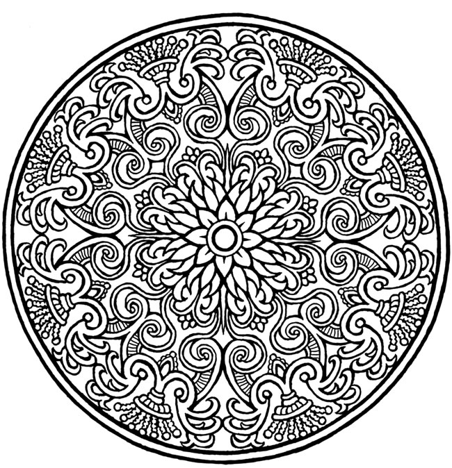 mandela pictures to color flower mandala coloring page free printable coloring pages to mandela pictures color