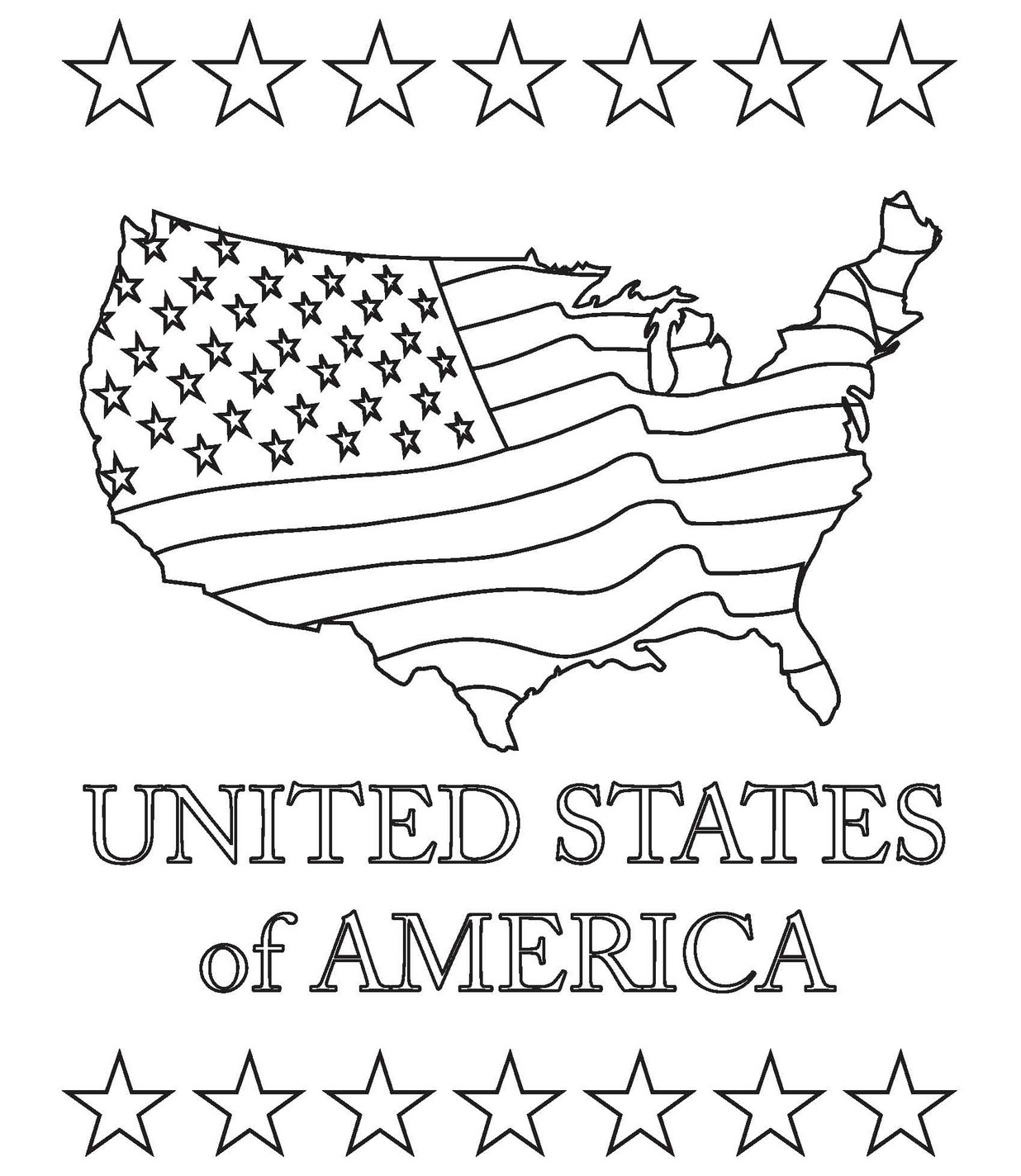 map of the united states coloring page coloring page united states map coloring home coloring map states page the of united