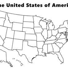 map of the united states coloring page coloring page united states map coloring home the map coloring page united states of