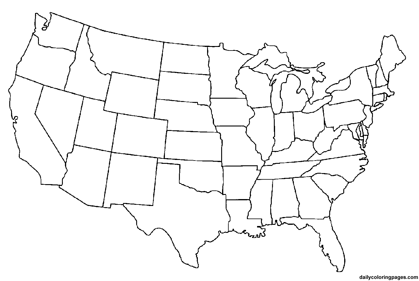 map of the united states coloring page us map america free printable coloring pages page states coloring of map the united