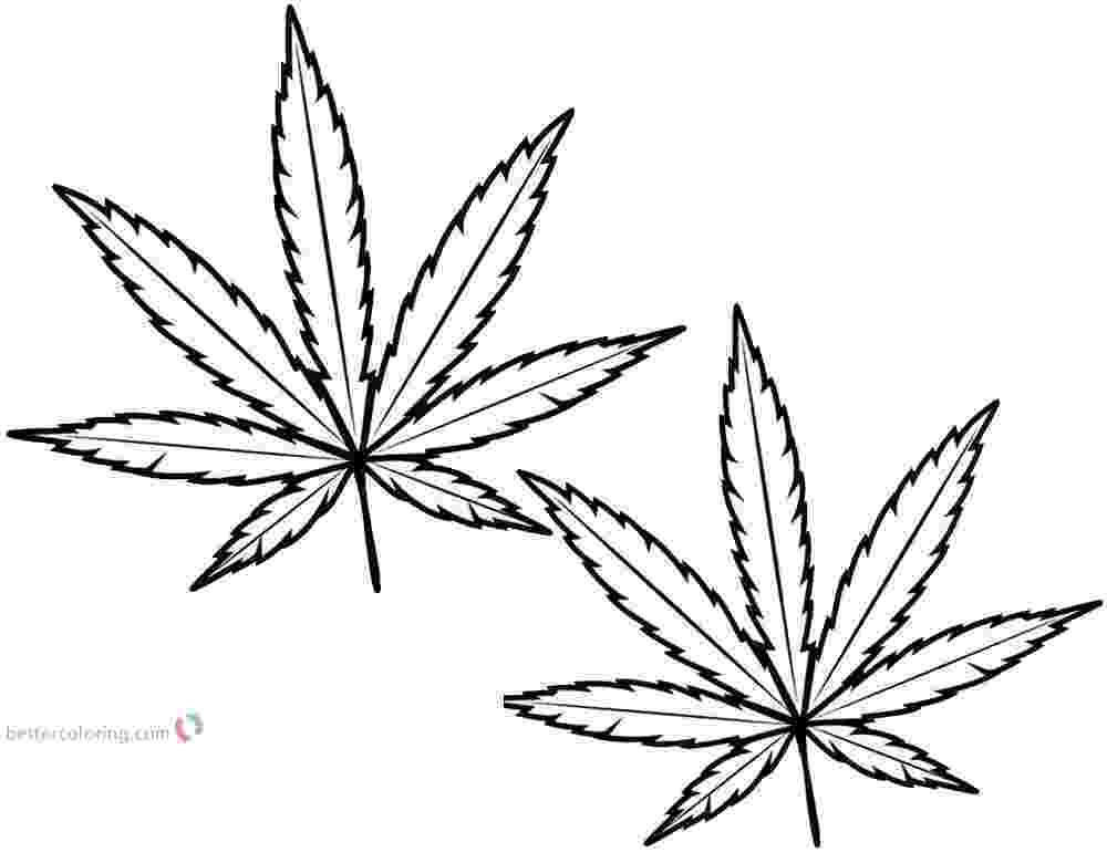 marijuana leaf coloring pages adult coloring page printable color sheet marijuana mary jane pages coloring leaf marijuana