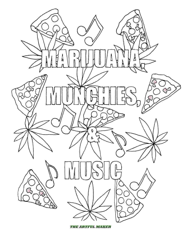 marijuana leaf coloring pages marijuana leaf drawings clipart best pages marijuana leaf coloring