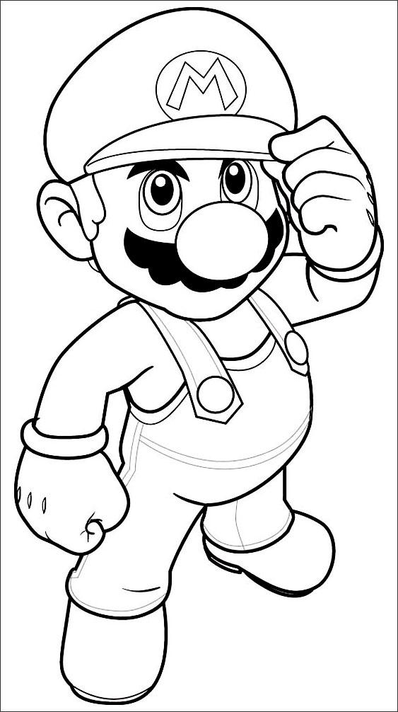 mario bros printable coloring pages 9 free mario bros coloring pages for kids gtgt disney printable bros coloring mario pages