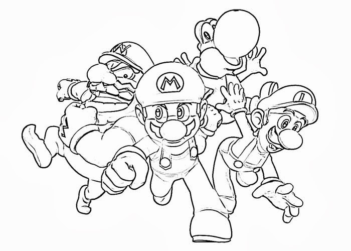 mario characters coloring pages mario characters coloring pages free coloring pages and mario coloring pages characters