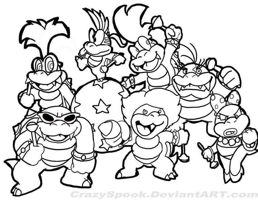mario characters coloring pages mario coloring pages getcoloringpagescom characters pages coloring mario