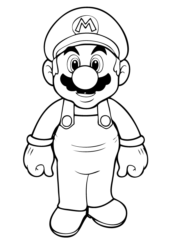mario characters coloring pages super mario characters coloring pages pages characters mario coloring