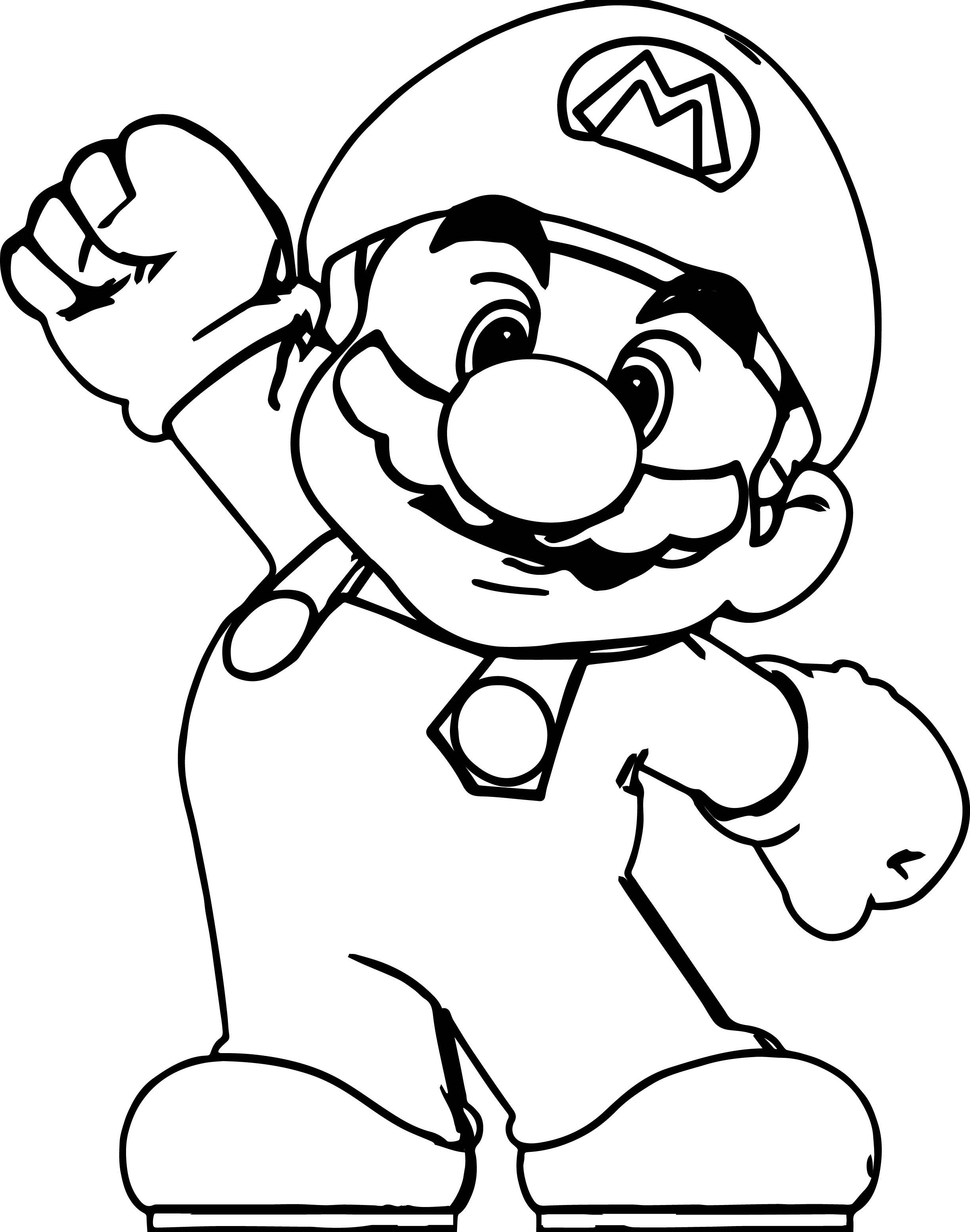 mario coloring mario coloring pages black and white super mario coloring mario 1 3